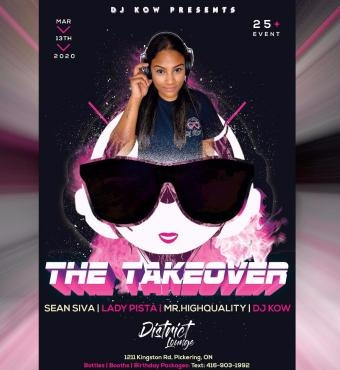 Dj Kow Presents: The Takeover 2020