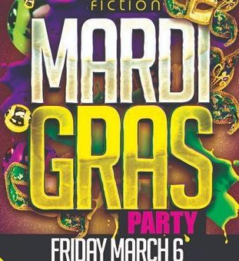 TORONTO MARDI GRAS PARTY 2020 @ FICTION NIGHTCLUB   FRIDAY MARCH 6TH