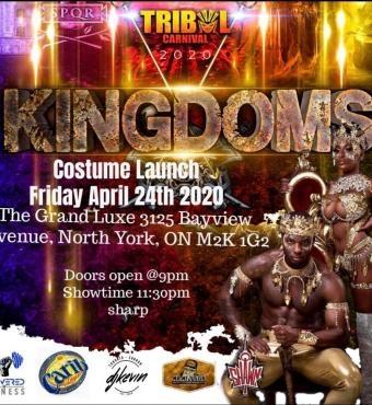 KINGDOMS costume launch