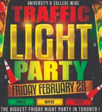 TRAFFIC LIGHT PARTY @ FICTION NIGHTCLUB   FRIDAY FEB 28TH