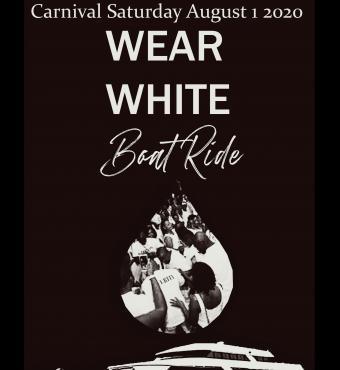 Wear White Boat Ride Carnival 2020