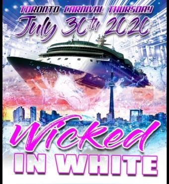 Wicked In White - Toronto Carnival Thursday