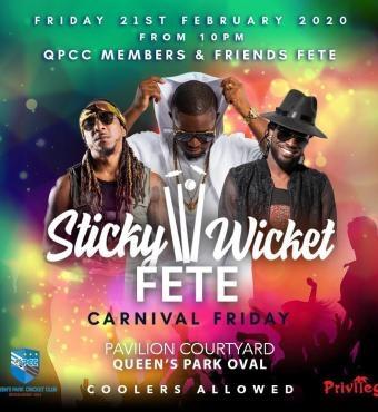 Sticky Wicket Fete - Carnival Friday