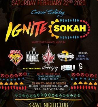 Ignite Sokah - 2020 Carnival Saturday