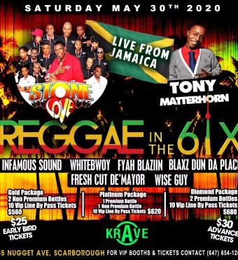 REGGAE IN THE 6IX FEAT. STONE LOVE & TONY MATTERHO...