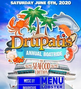 Drupatis Annual BoatRide - The Sea Food Edition