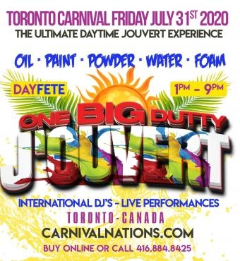 One Big Dutty J'ouvert 2020
