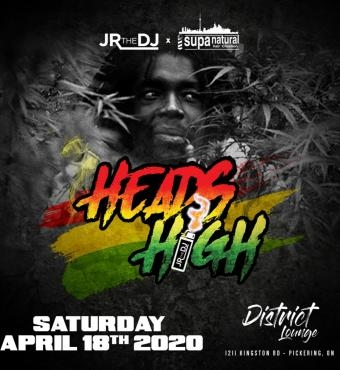 Heads High - Saturday April 18 2020