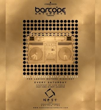 Barcode Saturdays Feb 22nd