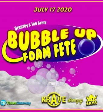 Bubble up Foam Fete @ Krave