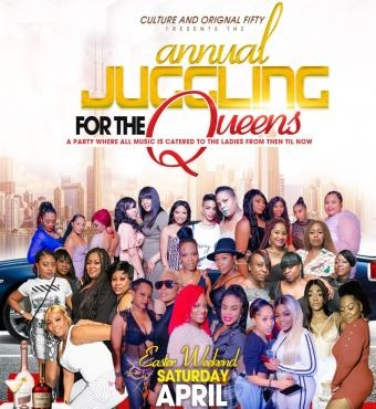 Annual Juggling For The Queens