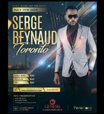Serge Beynaud In Toronto