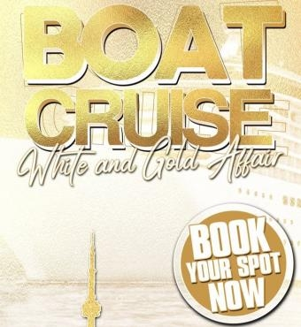 Boat Cruise - White & Gold Affair