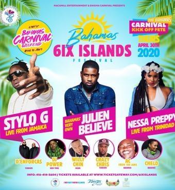 The Bahamas 6ix Islands Festival