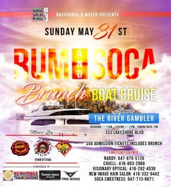 Rum & Soca Brunch Boat Cruise