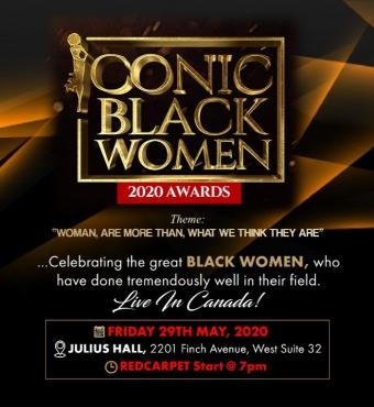ICONIC BLACK WOMEN AWARDS 2020
