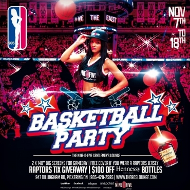 Basketball Party @ The 905
