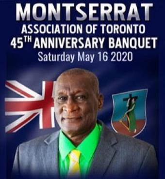 MONTSERRAT Association of Toronto - 45th Banquet