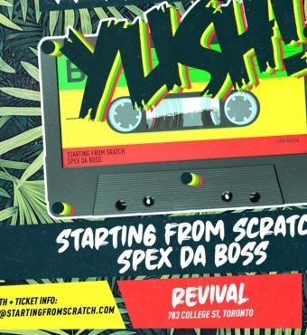 Yush! - A Journey Through Reggae Music ~ Friday June 5th