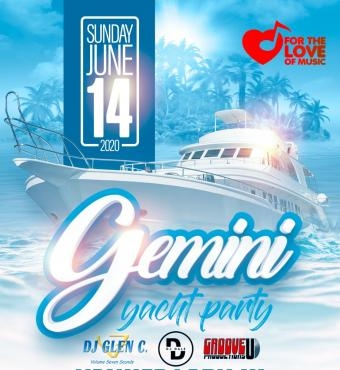 GEMINI YACHT PARTY - FOR THE LOVE OF MUSIC