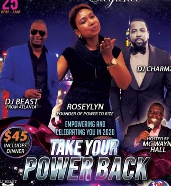 POWER TO RIZE Presents TAKE YOUR POWER BACK
