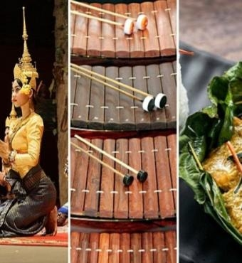 The Story of Cambodia   Dance, Music & Food - A Virtual Fundraiser Series