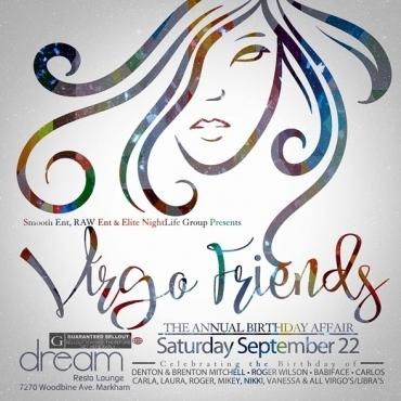Virgo Friends\ The Annual Birthday Affair