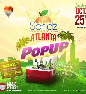 SANDZ - ATLANTA POPUP PARTY