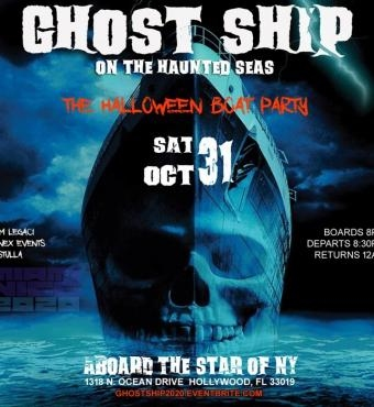 GHOST SHIP MIAMI | The Halloween Boat Party 2020