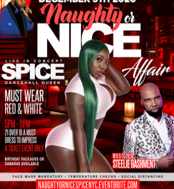 NAUGHTY OR NICE - SPICE LIVE IN NEW YORK.