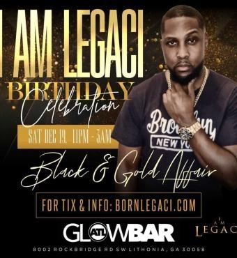 Big Birthday Celebration for I AM LEGACI | Black and Gold Affair