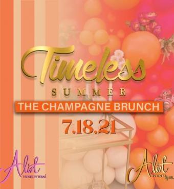 Timeless Summer Champagne Brunch