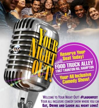 ALL INCLUSIVE Comedy Events Friday