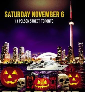 Tdotclub Halloween Hangover Booze Cruise