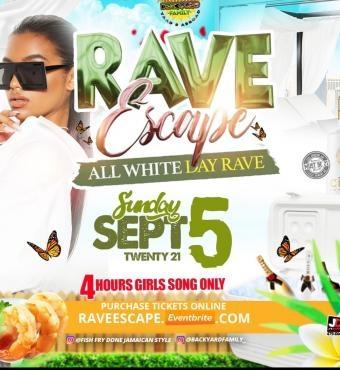 Rave Escape all white