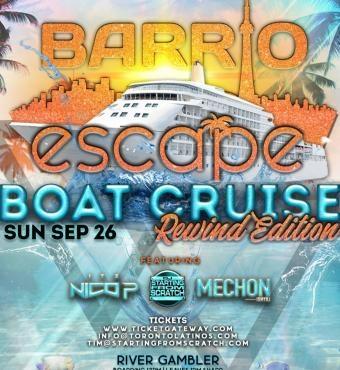 Escape Boat Cruise Pt 2 - Rewind Edition