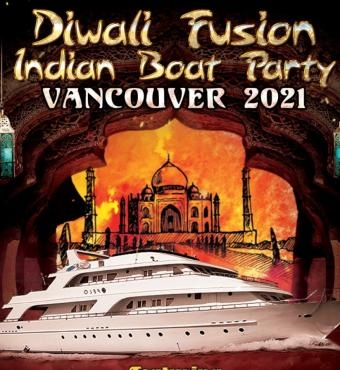 Diwali Fusion Indian Boat Party Vancouver 2021