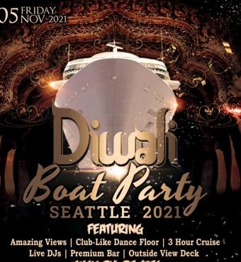 Diwali Boat Party Seattle | Celebration | Things to Do | Diwali Events