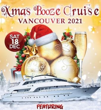 Christmas Booze Cruise Vancouver 2021 | Party with Santa