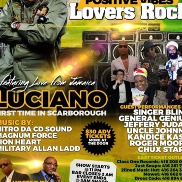 Luciano Live In Scarborough