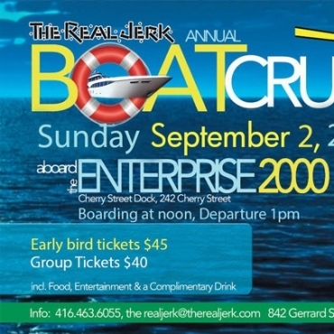 The Real Jerk Annual Boat Cruise 2018