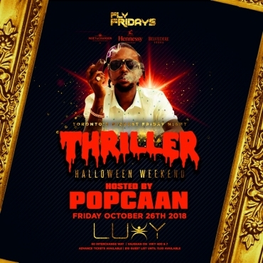 THRILLER - Halloween Friday Inside Luxy
