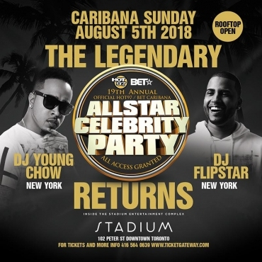 HOT 97 / BET ALL STAR CELEBRITY PARTY - 19TH ANNUAL | CARIBANA SUNDAY