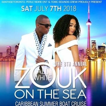 ALL WHITE ZOUK ON THE SEA 2018