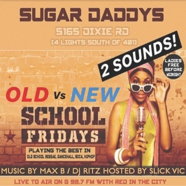 OLD VS NEW SCHOOL FRIDAYS LIVE TO AIR G98.7