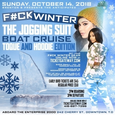 F#ck Winter - Boat Cruise - The Jogging Suit