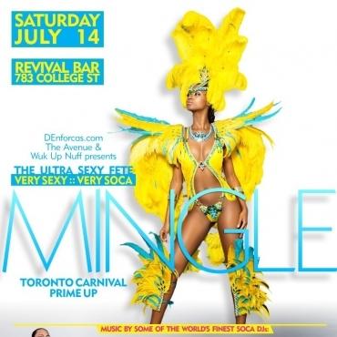 Mingle Toronto Carnival Prime up