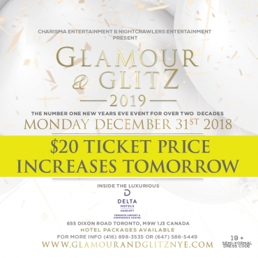 Glamour & Glitz 2019 - The Number One New Year's G...