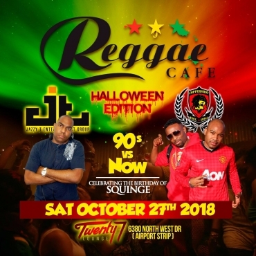 Reggae Cafe \ Halloween edition