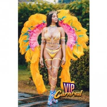 Aglaea Costume - Carnival in Jamaica 2019- Vip Carnival